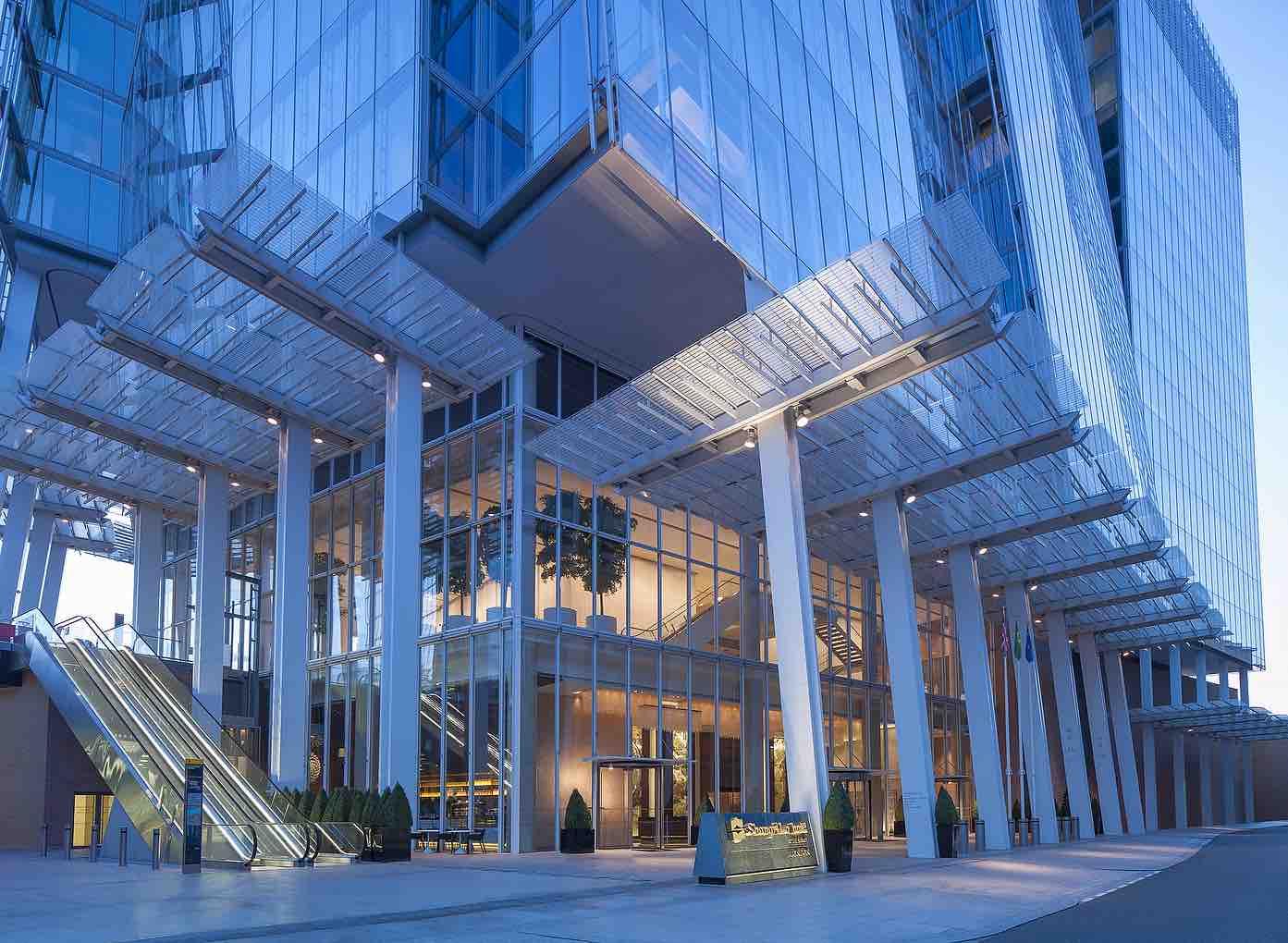 Shangri La Hotel At The Shard London Haute Grandeur