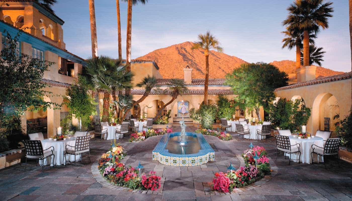 royal palms resort and spa haute grandeur. Black Bedroom Furniture Sets. Home Design Ideas